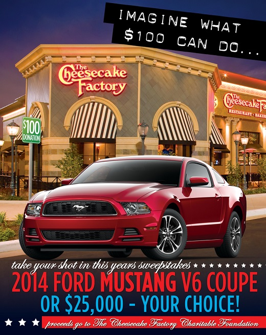 2014 Ford Mustang V6 Coupe or $25K - Your Choice